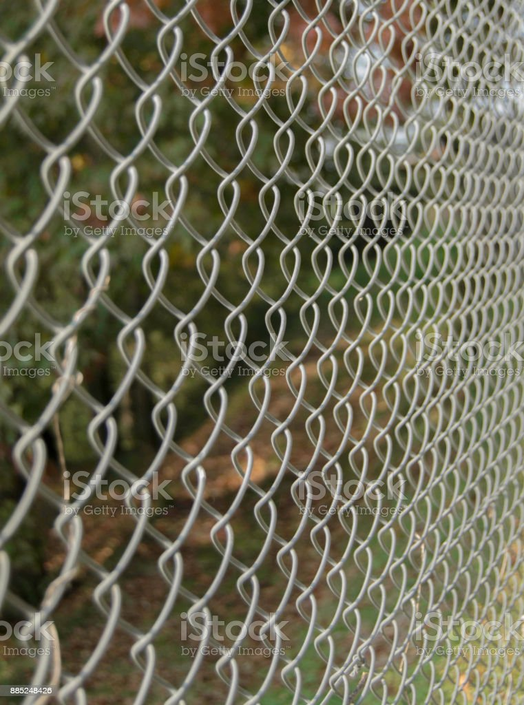featured canvas fence stock photo