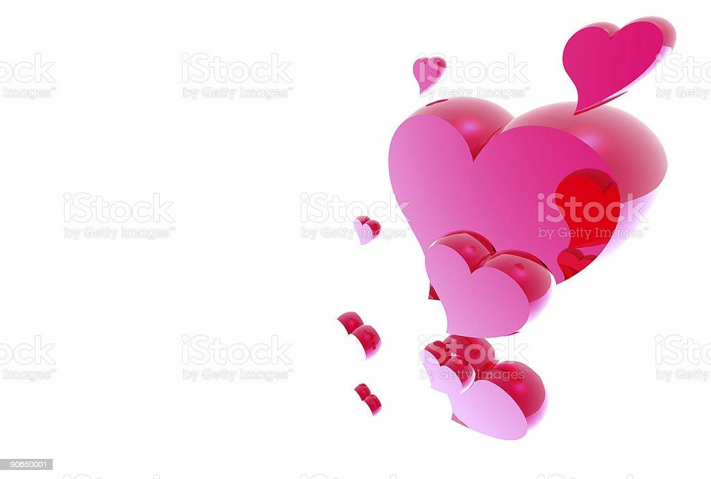 Feb 14th Heart 03 royalty-free stock photo