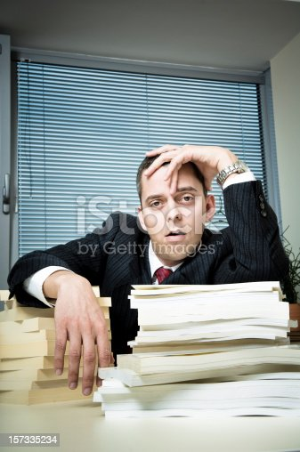 481644192 istock photo Fed up Office Worker 157335234