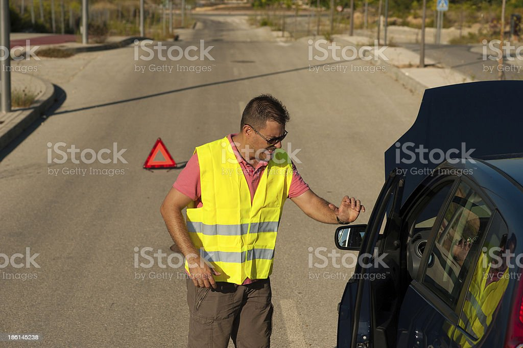 Fed up stock photo