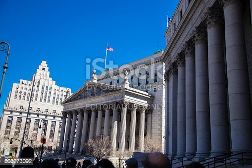 istock Federal and State courthouse 863273092