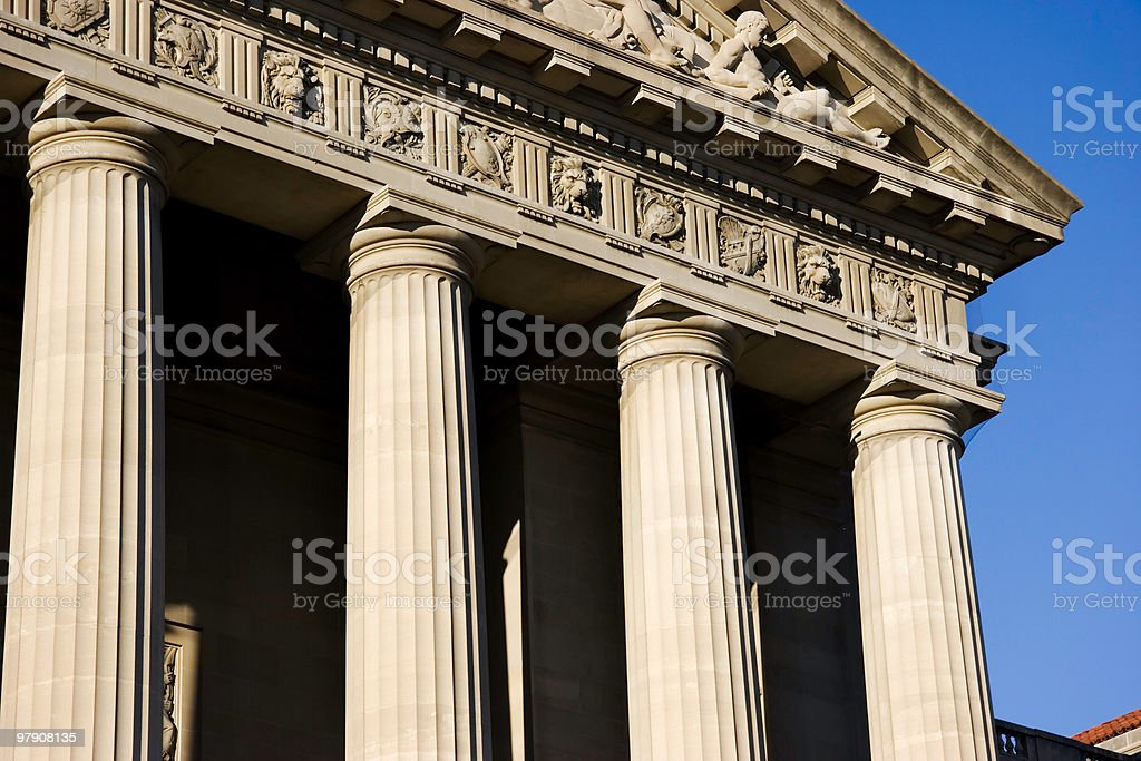 Federal Building in Washington, D.C. royalty-free stock photo
