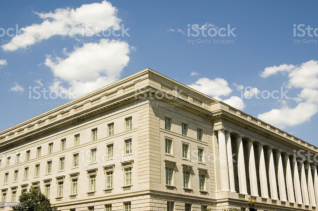 Federal Building royalty-free stock photo