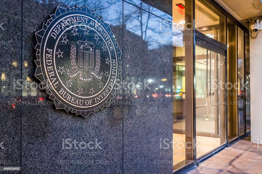 FBI, Federal Bureau of Investigation Headquarters, on Pennsylvania avenue foto royalty-free