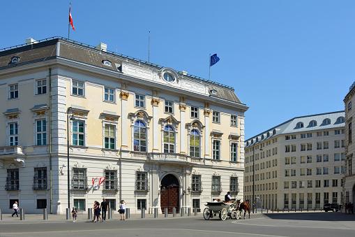 Sede Cancillería Federal, Viena