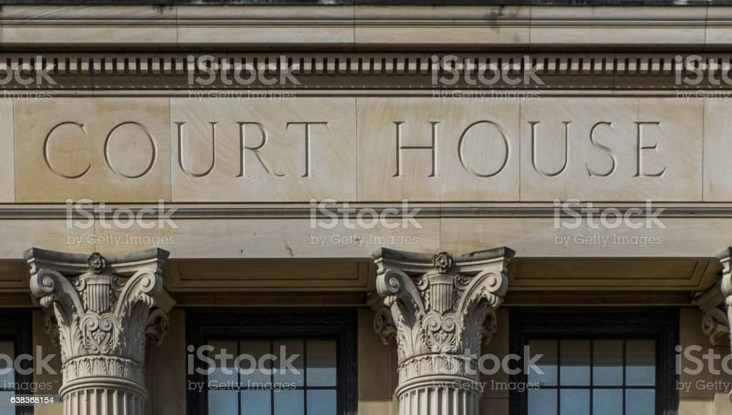 Federal Courthouse at Beaumont, Texas stock photo