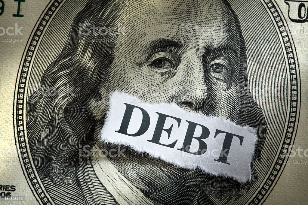 Federal Debt royalty-free stock photo