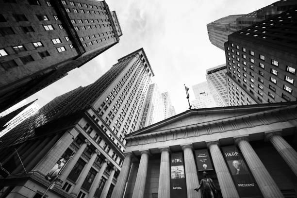 Federal Hall, Wall Street, NYC. – Foto