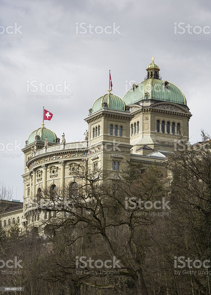Bundeshaus royalty-free stock photo