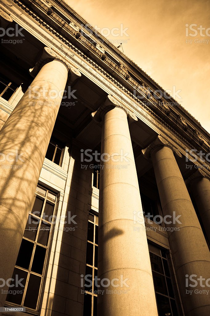 Federal Reserve Bank of San Francisco royalty-free stock photo