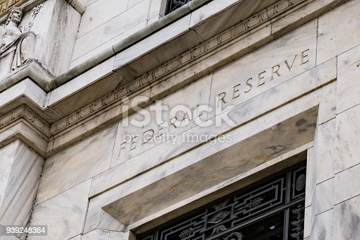 istock Federal Reserve Building in Washington DC 939248364