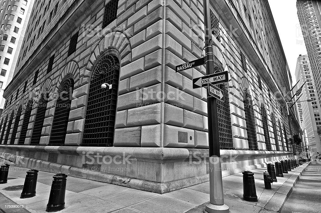 Budynek Rezerw federalnych, Lower Manhattan dzielnica finansowa, New York City - Zbiór zdjęć royalty-free (1920-1929)