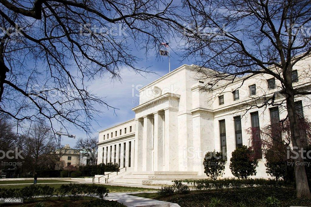 Sede della Banca Centrale Americana foto stock royalty-free