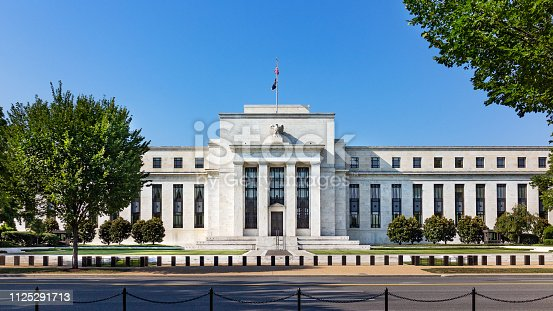 istock Federal reserve building, the headquater of Federal reserve bank. 1125291713