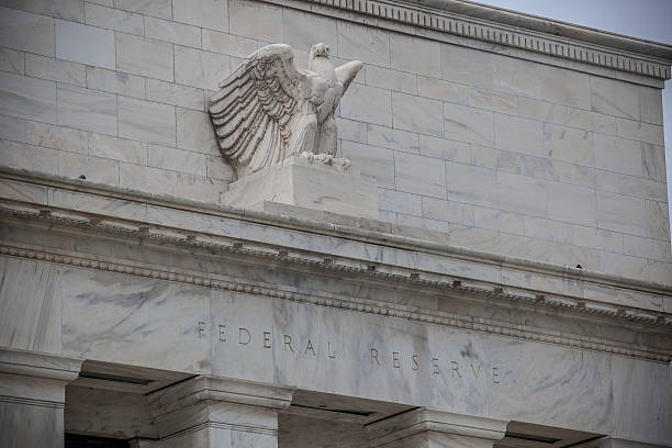 Federal Reserve Federal Reserve Building detail monetary policy stock pictures, royalty-free photos & images