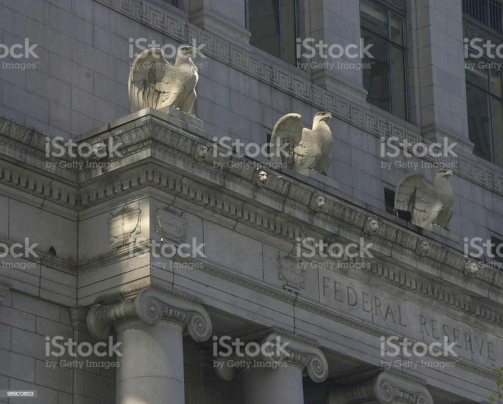 Federal Reserve royalty-free stock photo