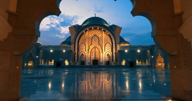 Federal Territory Mosque. stock photo