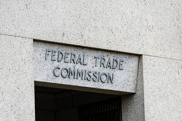 Federal Trade Commission The building of the Federal Trade Commission in downtown Washington DC. federal building stock pictures, royalty-free photos & images