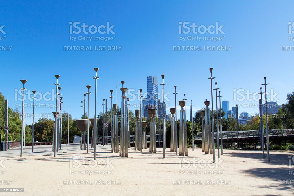 Federation Bells - Melbourne stock photo