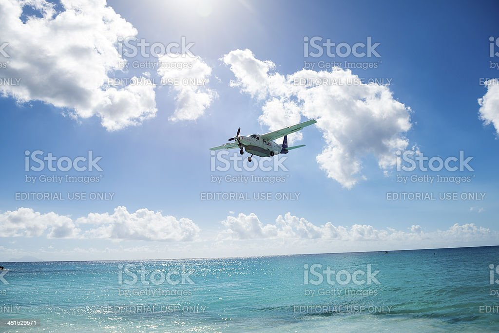 FedEx Feeder service - tropical delivery stock photo