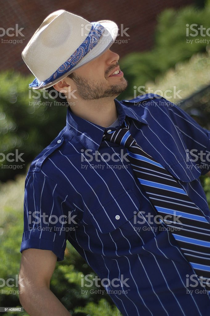 Fedora Hat stock photo