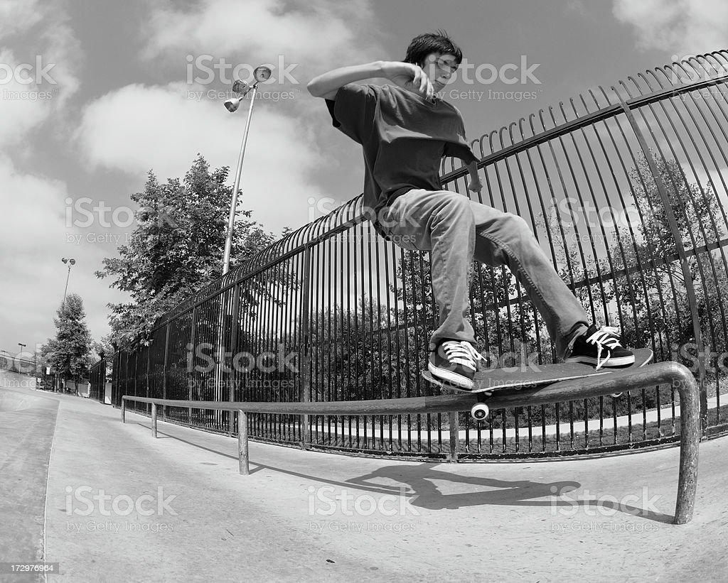 Feeble Grind stock photo