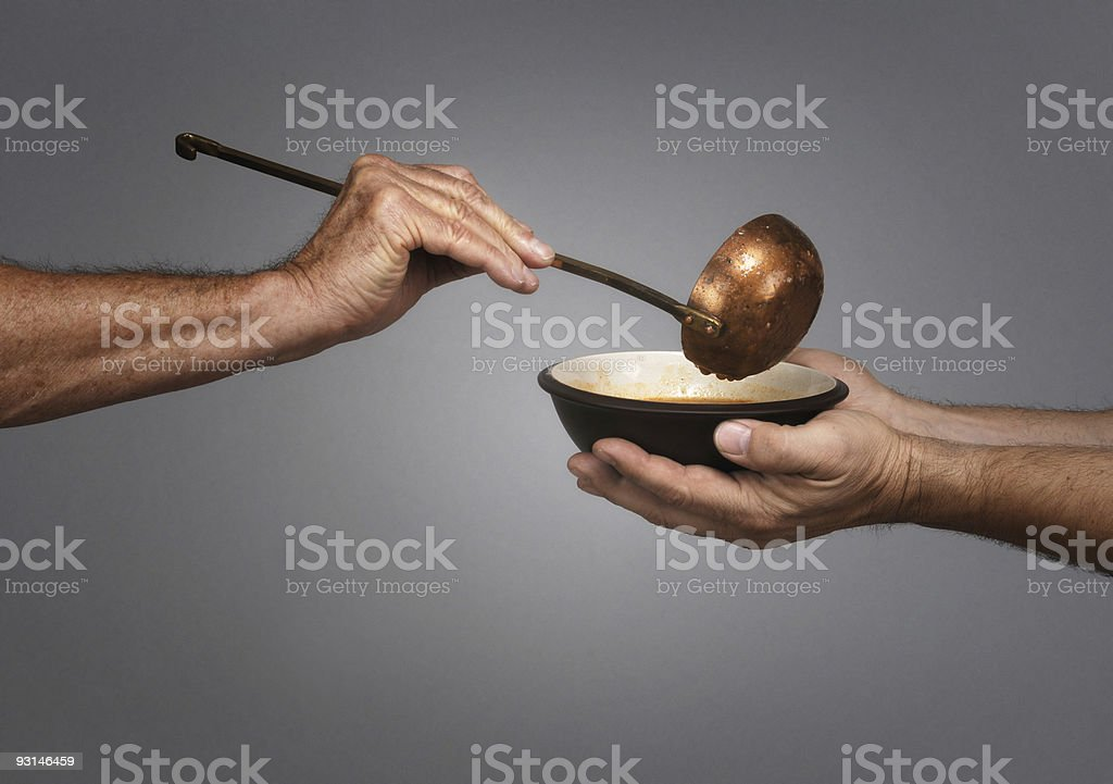 Feed the World stock photo