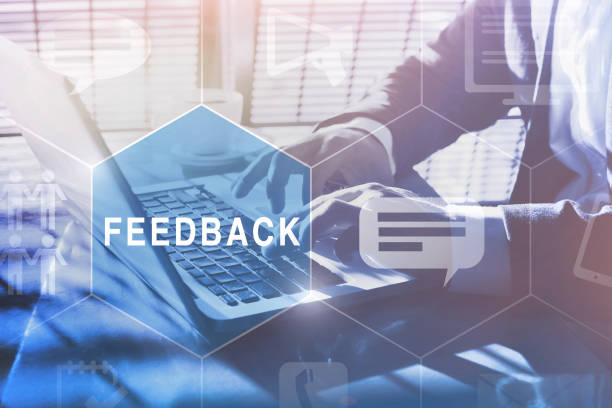 feedback concept feedback concept, user comment rating of company online, writing review diagram, reputation management questionnaire stock pictures, royalty-free photos & images