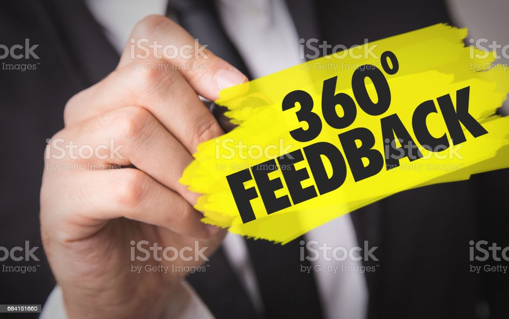 360 Feedback foto stock royalty-free