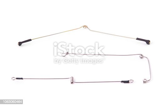 864720746istockphoto Feeder fishing. Anti Tangle for feeder mounting 1063060464