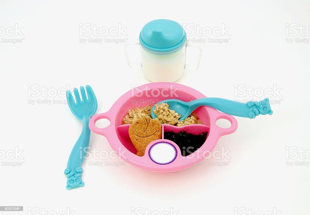 Feeding Baby royalty-free stock photo