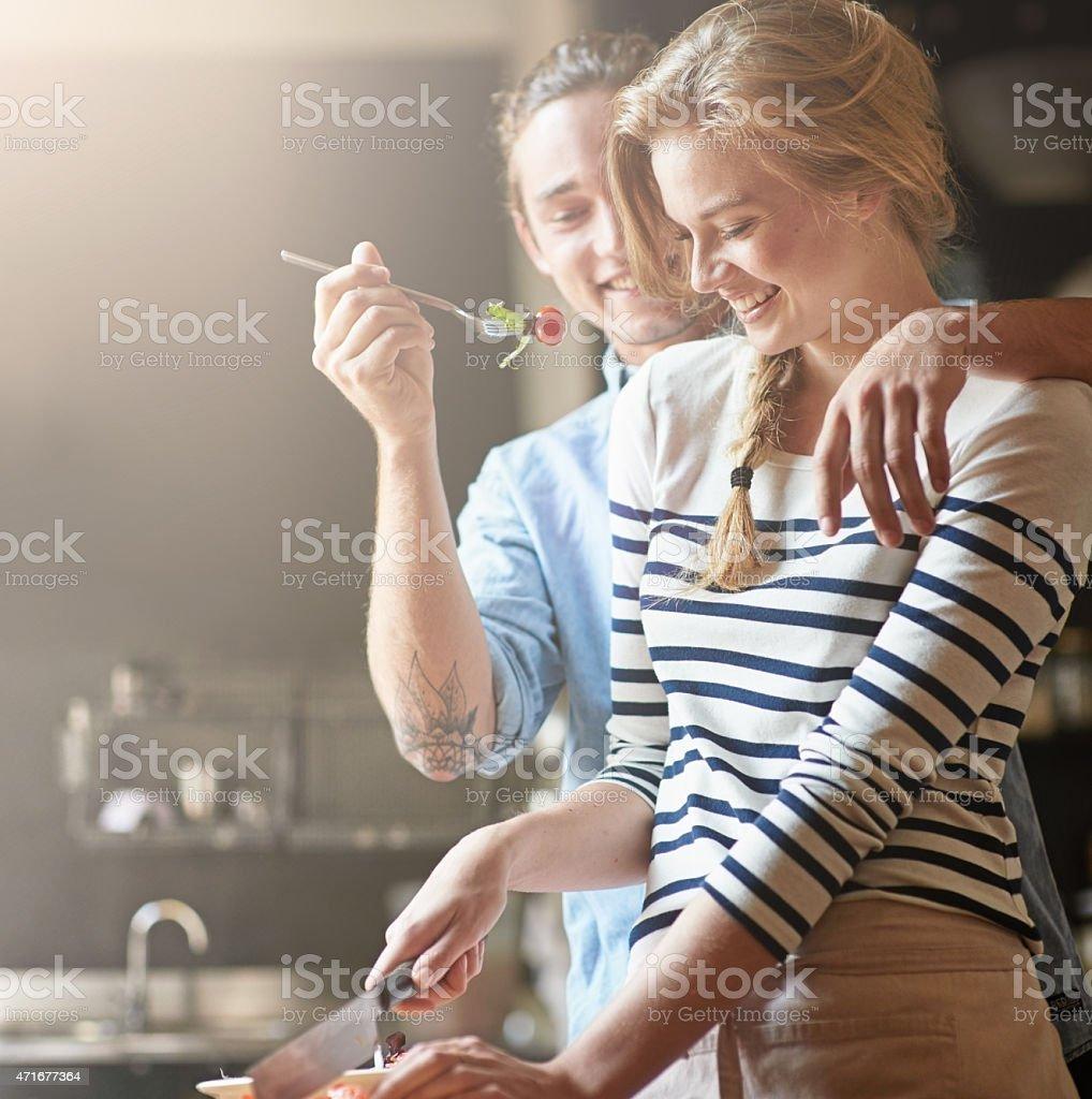 Füttern Sie mit seinen Lieben – Foto