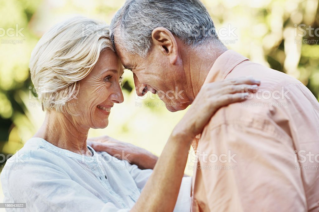 I feel complete when I'm with you royalty-free stock photo