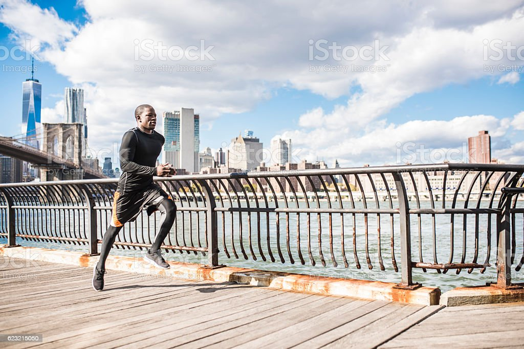 I feel great and fast stock photo