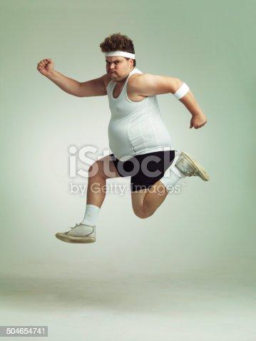 istock I feel in shape already 504654741