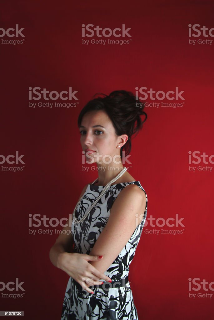 I feel like Jackie royalty-free stock photo