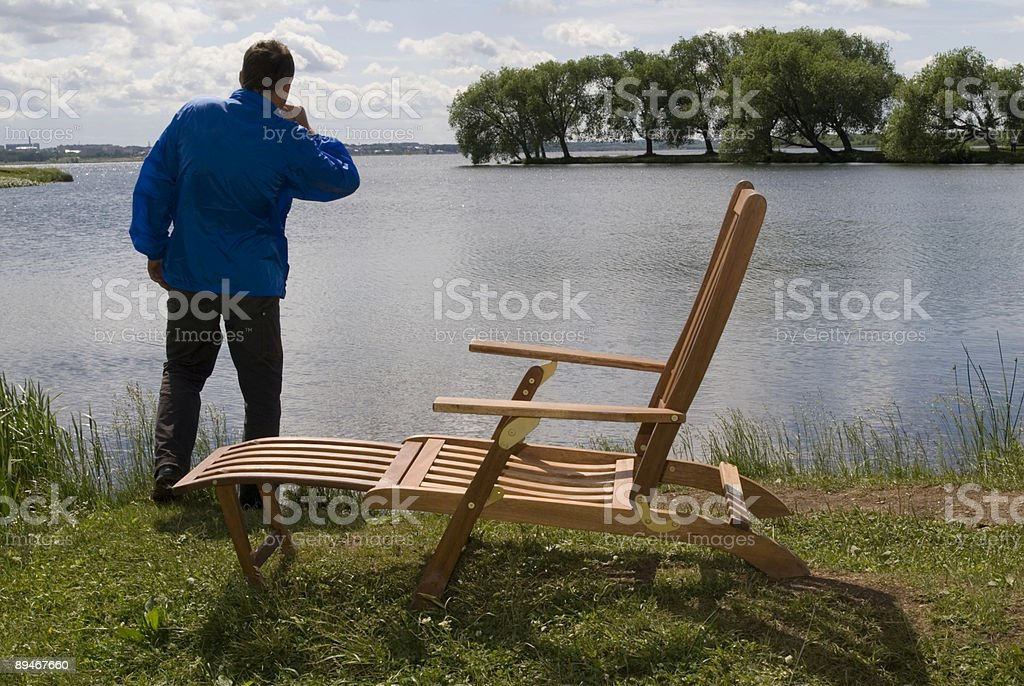 Feel lonely royalty-free stock photo