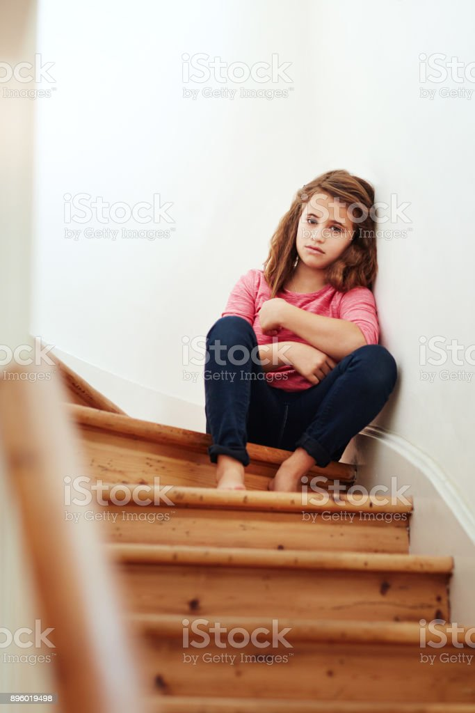 I feel so alone here stock photo