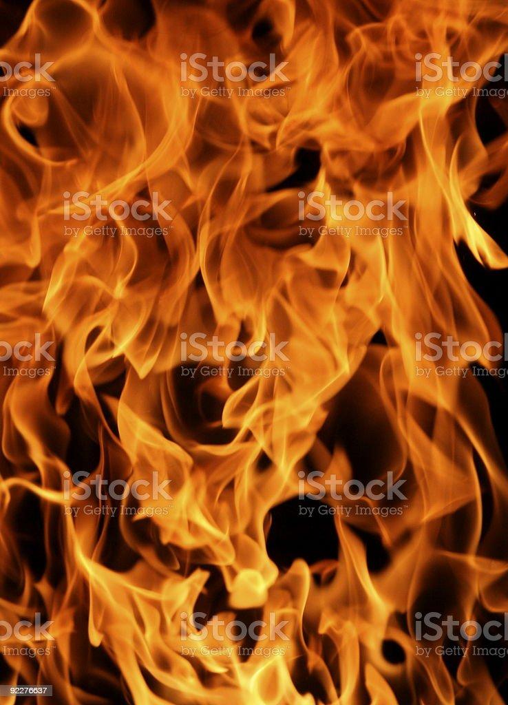 Feel the Burn royalty-free stock photo