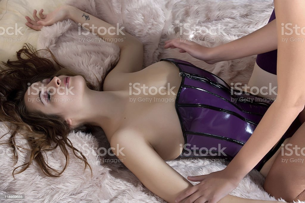 Feel the sexyness stock photo