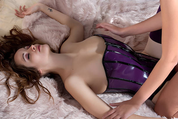 feel the sexyness - sexual issues stock photos and pictures
