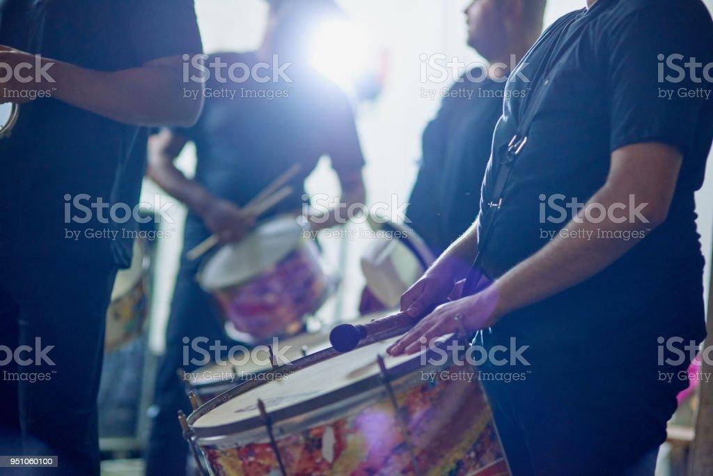 Feel their rhythm royalty-free stock photo