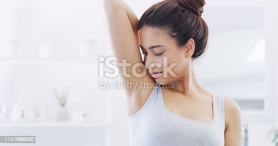 istock Feeling and smelling fresh 1141996550