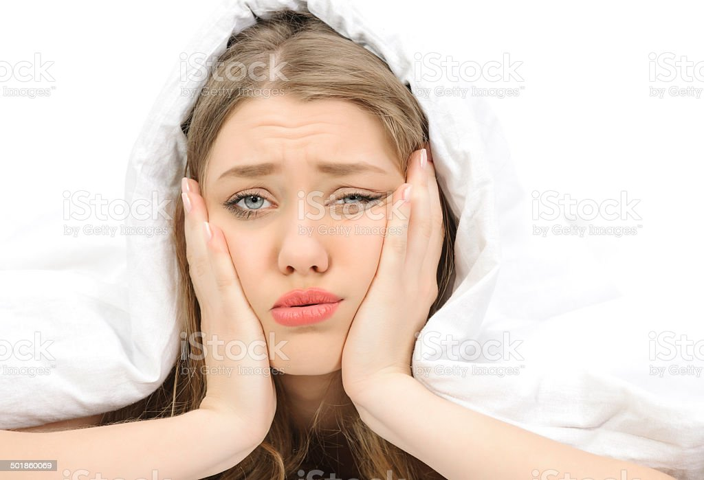 feeling bored today stock photo