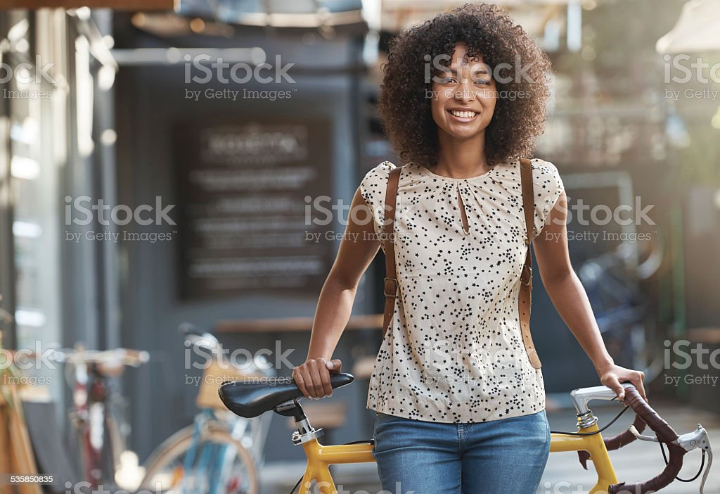 Feeling confident and ready to go stock photo