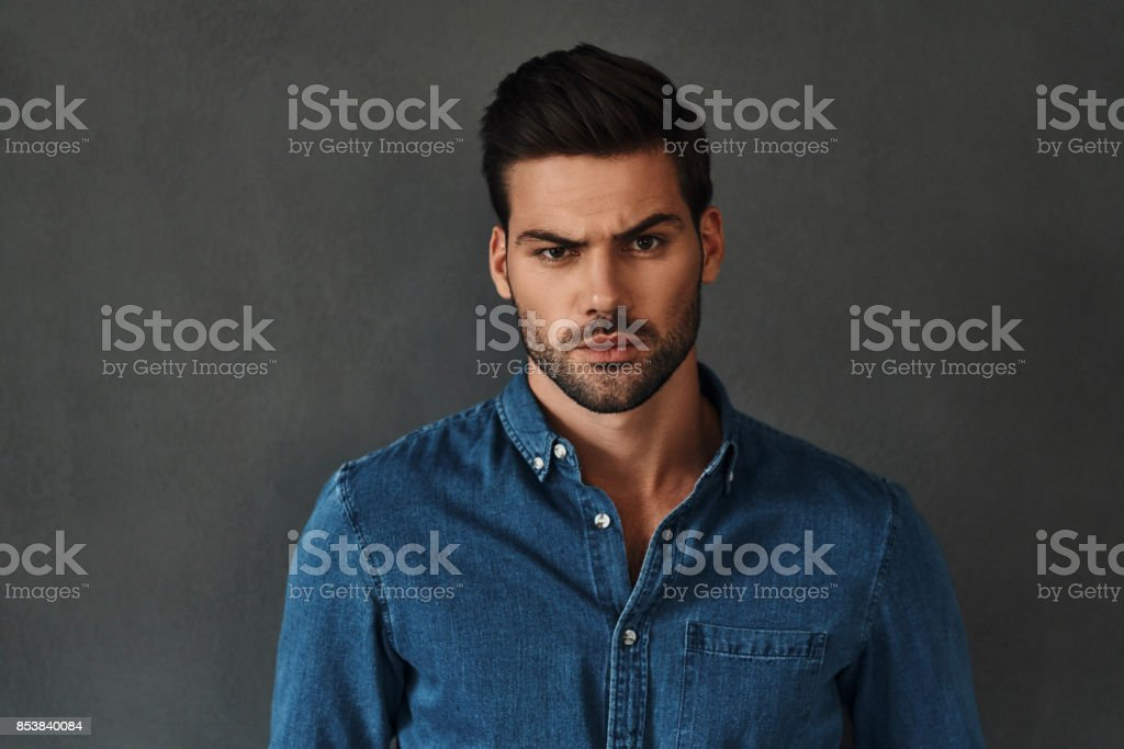 Feeling confused. stock photo