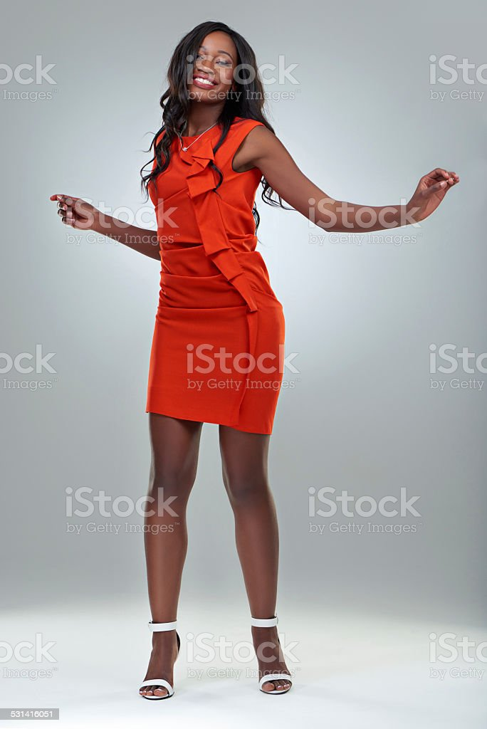 Feeling fabulous and free stock photo