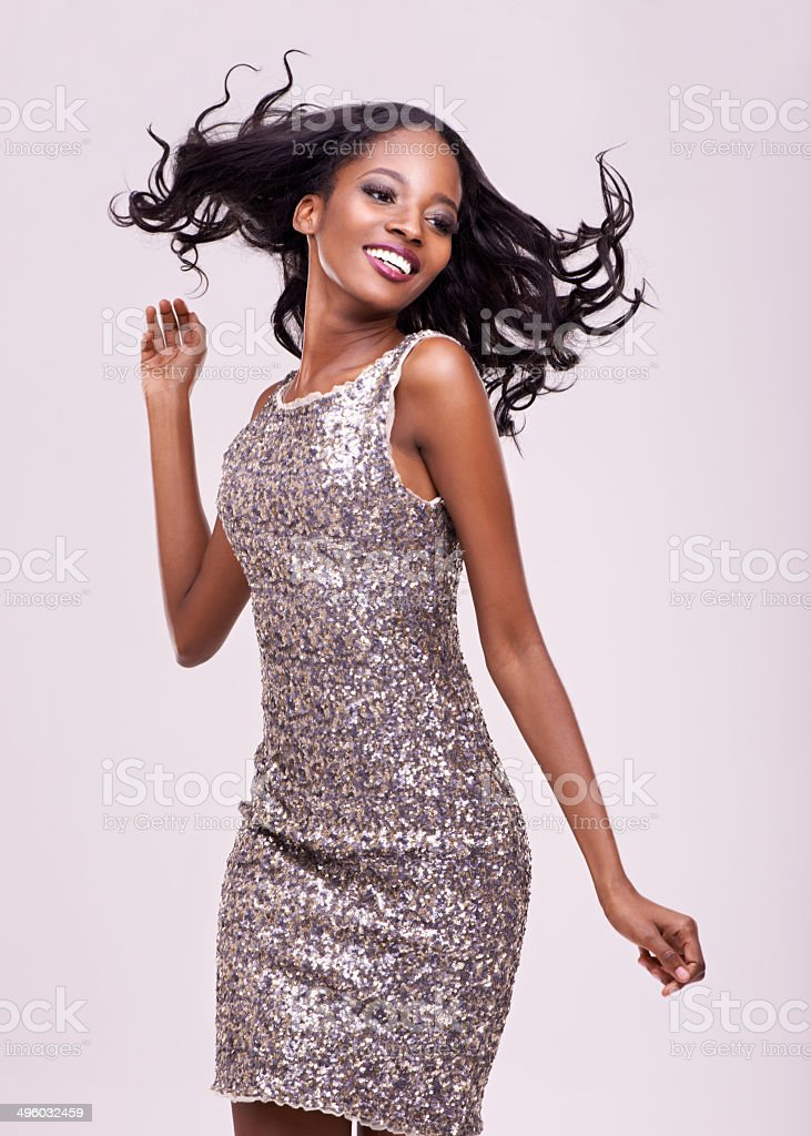 Feeling fabulously free stock photo