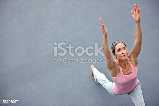 istock Feeling free and flexible 539260571