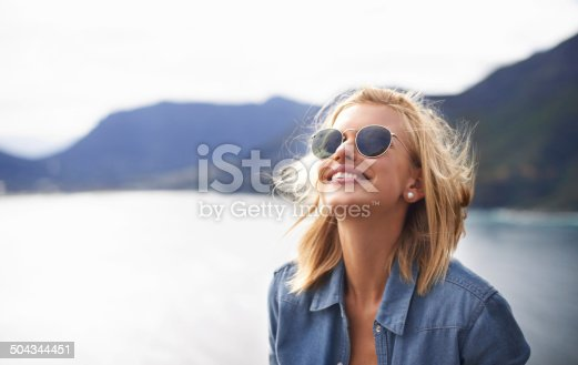istock Feeling free in nature 504344451